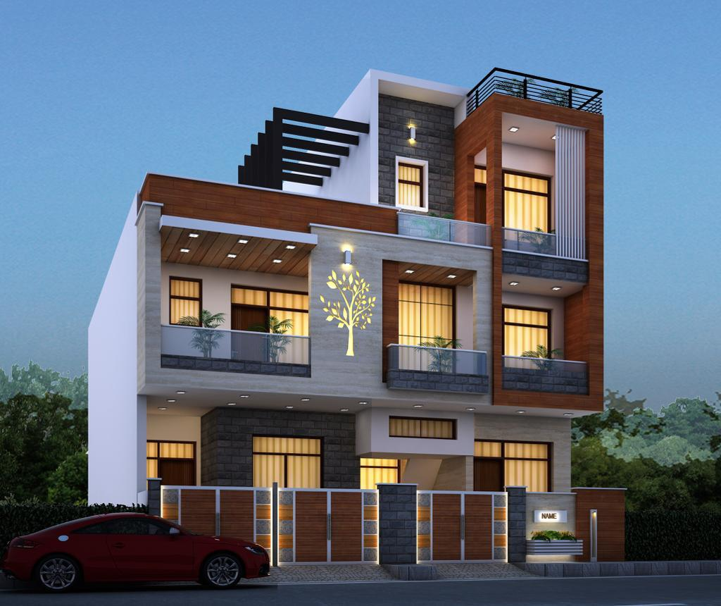 Residential House Elevation Design By Weframe