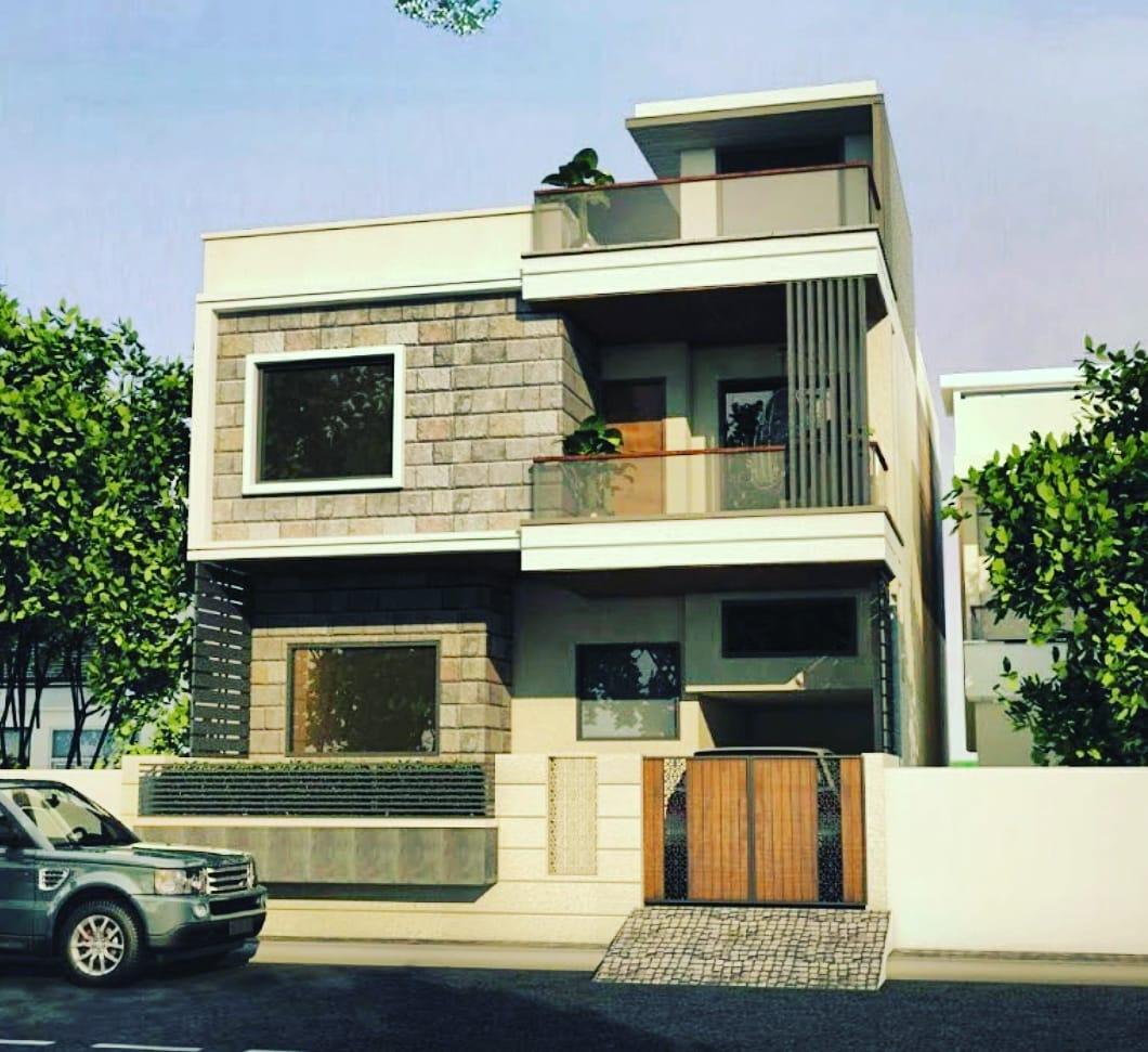 Front Elevation Design By Weframe - Weframe