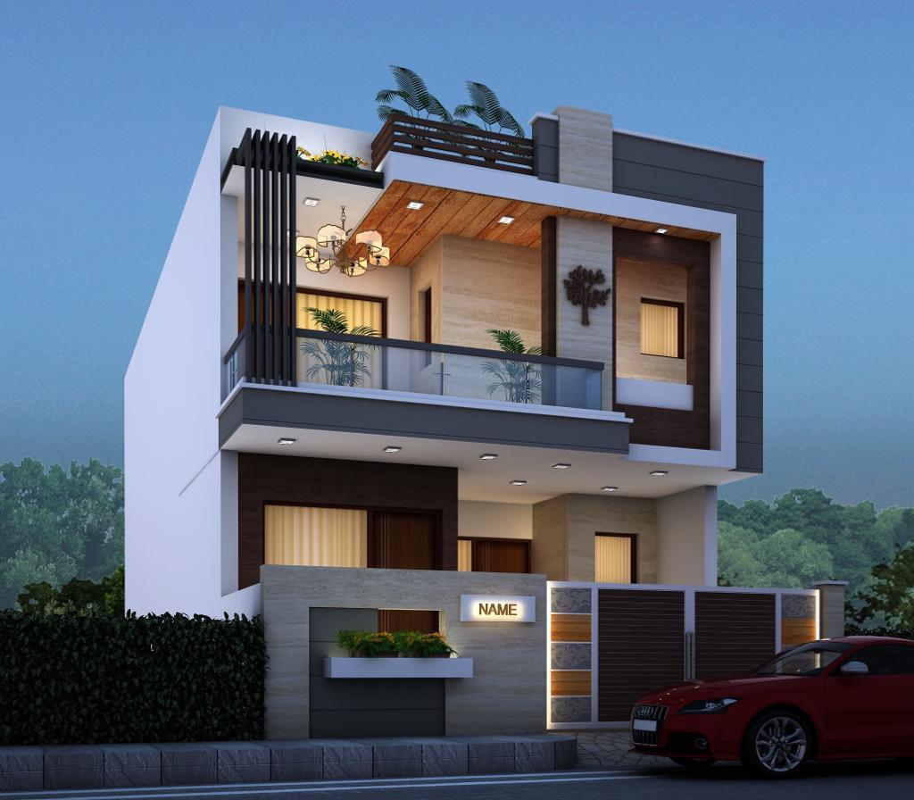 House Elevation Design By Weframe - Weframe